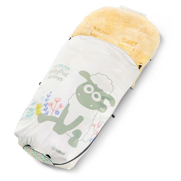 Softshellbezug für Kinderwagenfellsack SHAUN