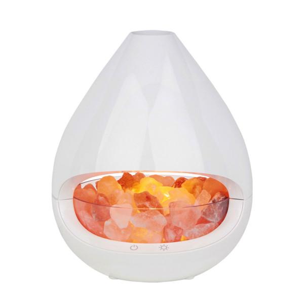 Diffuser & Salzkristall-Lampe GLO