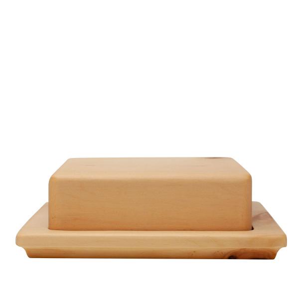 Zirbenholz Butterdose