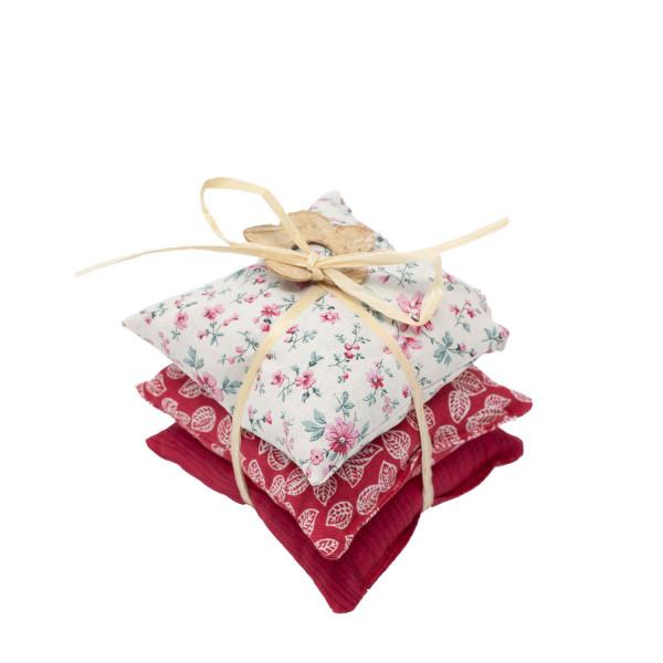 Lavendel Mottenschutz 3er-Set rot
