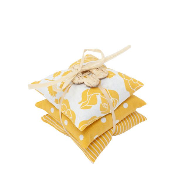 Lavendel Mottenschutz 3er-Set gelb