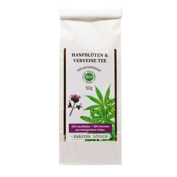 Hanfblüten & Verveine Tee