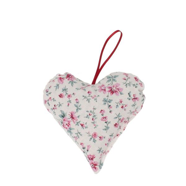 Lavendelherz klein rosa Blumen