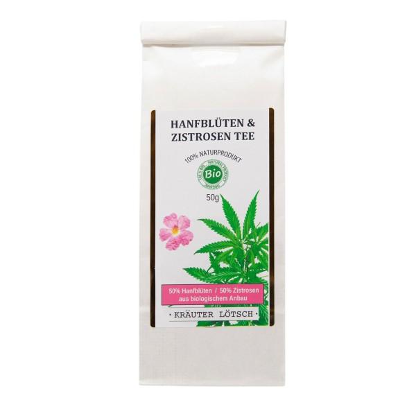 Hanfblüten & Zistrosen Tee