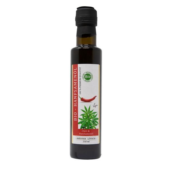 Hanfsamen Öl mit Chili